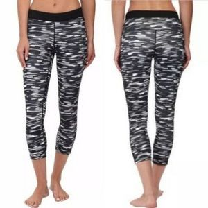 Nike Dri-Fit Camo Compression Crop Tights - Sz S